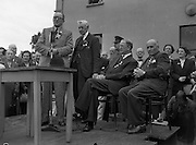 16/07/1952<br /> 07/16/1952<br /> 16 July 1952<br /> Eamon De Valera speaking at opening  day of International Bowling, Clontarf Golf Club Bowling Green, Dublin.