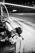 January 30-31, 2021. IMSA Weathertech Series. Rolex Daytona 24h:  Paul Miller Racing Lamborghini Huracan GT3 mechanic