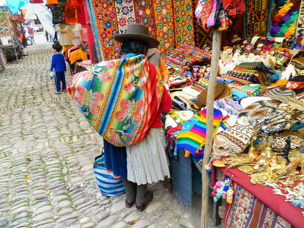 The Pisac Market is one of the most famous markets in the Cusco region, drawing many visitors to its famous Sunday market when indigenous Quechua communities from the surrounding highlands come to Pisac to sell their produce and stock up on supplies for the week.