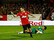 Aldershot Town v Manchester United 251011