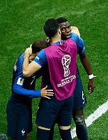 Antoine GRIEZMANN, Paul POGBA, Olivier GIROUD <br /> Celebration Victory France <br /> Moscow 15-07-2018 Football FIFA World Cup Russia  2018 Final / Finale <br /> France - Croatia / Francia - Croazia <br /> Foto Matteo Ciambelli/Insidefoto