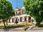 Rynek w Nowym Wiśniczu, budynek urzędu miejskiego.