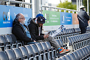 Spectators take their seats, before the the One Day International match between England and Ireland at the Brightside County Ground, Bristol, United Kingdom on 5 May 2017. Photo by Andrew Lewis.
