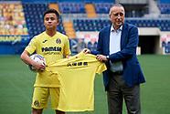 Kubo signing Villareal 11/08 Pablo