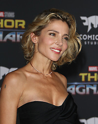 Thor: Ragnarok Premiere at El Capitan Theatre in Hollywood, California on 10/10/17. 10 Oct 2017 Pictured: Elsa Pataky. Photo credit: River / MEGA TheMegaAgency.com +1 888 505 6342