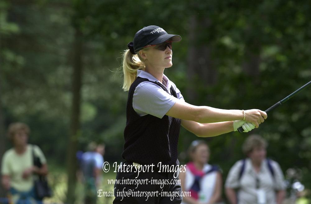 2001 Weetabix Women's British Open, Sunningdale Golf Course, Berks, Great Britain<br />  <br /> [Mandatory Credit Peter Spurrier/Intersport Images]<br /> <br /> Sat 4th August 2001<br /> <br /> Scotland's Janice Moody