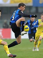 "German DENIS  (Atalanta)<br /> Milano 4/12/2011 Stadio ""Bentegodi""<br /> Serie A 2011/2012<br /> Football Calcio Chievo Verona Vs Atalanta<br /> Foto Insidefoto Alessandro Sabattini"