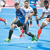 BHUBANESWAR -  Hockey World League finals , Semi Final . Argentina v India. Alan Andino (Arg)  COPYRIGHT KOEN SUYK
