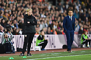 Wales Women's coach Jayne Ludlow in the technical area during the FIFA Women's World Cup UEFA Qualifier match between England Ladies and Wales Women at the St Mary's Stadium, Southampton, England on 6 April 2018. Picture by Graham Hunt.
