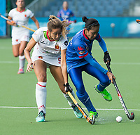 BRUXELLES (Belgium) -   Maria LOPEZ (SPA)    during Hockey World League women (semi final competition)  SPAIN v MALAYSIA .  COPYRIGHT KOEN SUYK