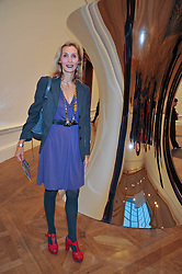 ALLEGRA HICKS attends the private view of Anish Kapoor's latest exhibition at the Royal Academy of Arts, Piccadilly, London on 22nd September 2009