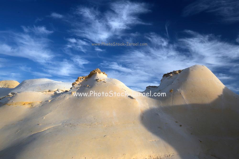 Israel, Negev desert, landscape in the western Negev desert near Nitzana
