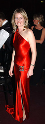 VISCOUNTESS LINLEY at the Russian Rhapsody Gala dinner concert held at The Royal Albert Hall, London on 11th April 2005.  <br />