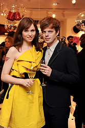SOPHIE ELLIS-BEXTOR and RICHARD JONES at the H&M Home Launch held at 174-176 Oxford Street, London W1 on 2nd November 2010.