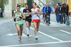 Peter Kastelic na 13. Ljubljanskem maratonu po ulicah Ljubljane, 26. oktobra 2008, Ljubljana, Slovenija. (Photo by Vid Ponikvar / Sportal Images)/ Sportida)