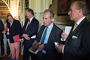 BARRY HUMPHRIES, , MICHAEL SNODIN; STEPHEN CLARKE; DAVID CAMPBELL, Rception l to celebrate the publication of an Everyman's Library edition of Horace Walpole's Letters – one of the finest series of letters in the English language. Monday 12 June fStrawberry Hill, 268 Waldegrave Road, Twickenham, LONDON.