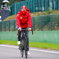 27.08.2020, Circuit de Spa-Francorchamps, Spa-Franchorchamps, FORMULA 1 ROLEX BELGIAN GRAND PRIX 2020<br /> , im Bild<br />Sebastian Vettel (GER#5), Scuderia Ferrari<br /> <br /> Foto © nordphoto / Bratic