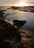 Low tide in the afternoon light, County Kerry, Ireland