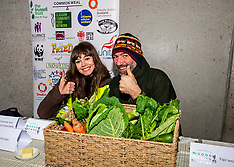 Campaigners highlight the human right to food, Edinburgh, 10 December 2019