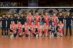 31-05-2014 NED: WLV Nederland - Zuid Korea, Eindhoven<br /> Teamfoto Zuid Korea