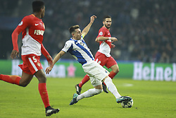 December 6, 2017 - Na - Porto, 06/12/2017 - Football Club of Porto received, this evening, AS Monaco FC in the match of the 6th Match of Group G, Champions League 2017/18, in Estádio do Dragão. Herrera  (Credit Image: © Atlantico Press via ZUMA Wire)