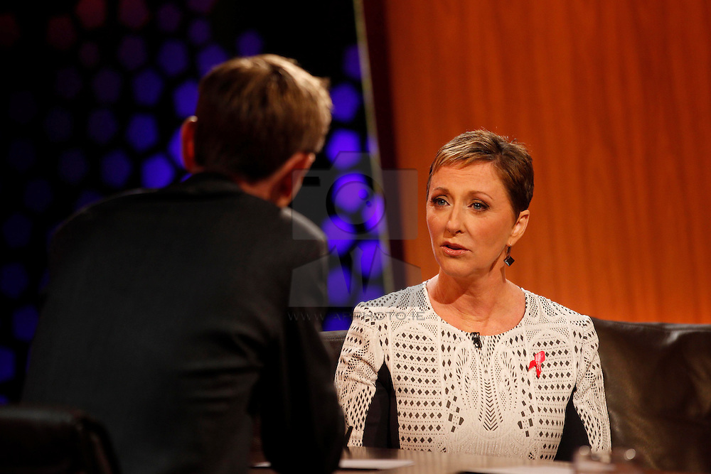 Repro Free: 13/09/2013<br /> Majella O'Donnell, businesswoman and wife of singer Daniel O'Donnell who recently was diagnosed with breast cancer is pictured prior to having her hair shaved live on RTE's Late Late show with Ryan Tubridy. For anyone who wants to support Majella and donate to Majella's Pink Appeal for the Irish Cancer Society, you can text 'Pink' to 50300 to donate €4, CallSave 1850 60 60 60 or visit www.cancer.ie  to make a donation. For anyone with any queries or concerns about breast cancer, call the Irish Cancer Society's National Cancer Helpline on Freefone 1800 200 700. Picture Andres Poveda