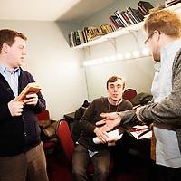 Jared Logan, Adam Conover, New York City PodFest - Jan 12, 2013 - The PIT