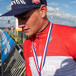 23-08-2020: Wielrennen: NK elite: Drijber<br />Mathieu van der Poel