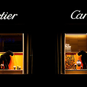 Cartier store window