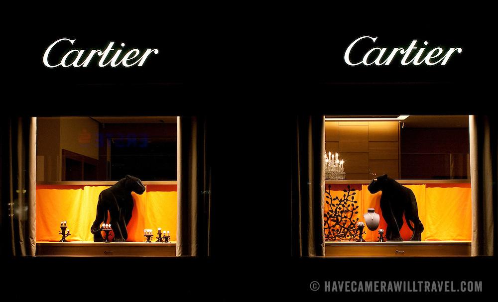 Cartier store window