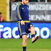 Fenerbahce's Michal Kadlec during their Turkish Super League soccer match Akhisar Belediye Genclik Spor between Fenerbahce at the 19 Mayis Stadium in Manisa Turkey on Sunday, 06 March 2016. Photo by TURKPIX