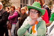 Galway launches 200 Gatherings ! Come home to Irelands Cultural Heart  with help of Maureen Beames Glenamaddy Gathering  at Aras An Contae. Picture Andrew Downes.