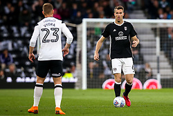 Kevin McDonald of Fulham runs with the ball - Mandatory by-line: Robbie Stephenson/JMP - 11/05/2018 - FOOTBALL - Pride Park Stadium - Derby, England - Derby County v Fulham - Sky Bet Championship