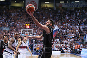 Spissu<br /> Kontatto Fortitudo Bologna vs Segafredo Virtus Bologna<br /> Campionato Basket LNP 2016/2017<br /> Bologna 14/04/2017<br /> Foto Ciamillo-Castoria/A. Gilardi