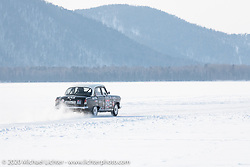 Incredible cars raced down the mile long track all day long at the Baikal Mile Ice Speed Festival. Maksimiha, Siberia, Russia. Saturday, February 29, 2020. Photography ©2020 Michael Lichter.