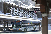 SHOT 3/2/17 11:03:46 AM - Park City, Utah lies east of Salt Lake City in the western state of Utah. Framed by the craggy Wasatch Range, it's bordered by the Deer Valley Resort and the huge Park City Mountain Resort, both known for their ski slopes. Utah Olympic Park, to the north, hosted the 2002 Winter Olympics and is now predominantly a training facility. In town, Main Street is lined with buildings built primarily during a 19th-century silver mining boom that have become numerous restaurants, bars and shops. (Photo by Marc Piscotty / © 2017)