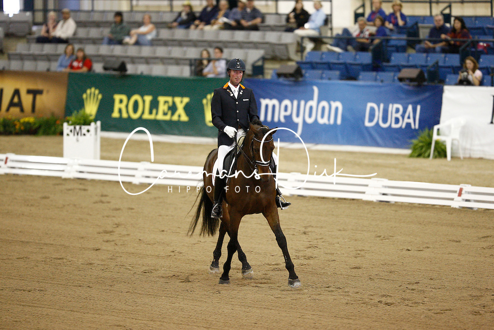 Hosmar Frank (NED) - Tiësto<br /> Alltech FEI World Equestrian Games <br /> Lexington - Kentucky 2010<br /> © Dirk Caremans