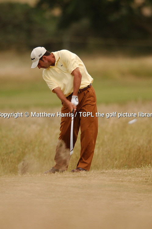 Jose Maria OLAZABAL (ESP) during fourth round The Open Championship 2005,St Andrews Old Course,St Andrews,Fife,Scotland.