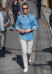 Benedict Cumberbatch is seen at 'Jimmy Kimmel Live' in Los Angeles, California. NON EXCLUSIVE April 26, 2018. 26 Apr 2018 Pictured: Benedict Cumberbatch. Photo credit: RB/Bauergriffin.com / MEGA TheMegaAgency.com +1 888 505 6342