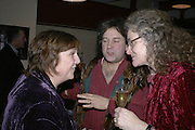 Janie Chesterton, Mr and Mrs. Hugo Spowers. Simon Keeling 50th Birthday. Cabinet War Rooms, Cabinet War Rooms, Clive Steps, King Charles St, W1 23 January 2007.  -DO NOT ARCHIVE-© Copyright Photograph by Dafydd Jones. 248 Clapham Rd. London SW9 0PZ. Tel 0207 820 0771. www.dafjones.com.
