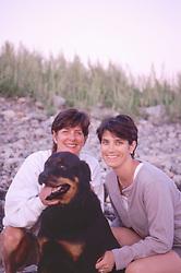 Terry, Frieda and Alex, Cedar Point, Scituate, Massachusetts, June 2003