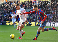 Football - 2019 / 2020 Premier League - Crystal Palace vs. Sheffield United<br /> <br /> Billy Sharp of Sheffield United and James McCarthy of Palace, at Selhurst Park.<br /> <br /> COLORSPORT/ANDREW COWIE