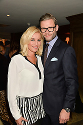 DENIS VAN OUTEN and EDDIE BOXSHALL at a party to celebrate the publication of The Stylist by Rosie Nixon held at Soho House, London on 10th February 2016.