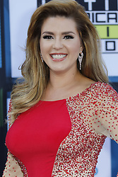 HOLLYWOOD, CA - OCTOBER 06: Alicia Machado attends the Telemundo's Latin American Music Awards 2016 held at Dolby Theatre on October 6, 2016. Byline, credit, TV usage, web usage or linkback must read SILVEXPHOTO.COM. Failure to byline correctly will incur double the agreed fee. Tel: +1 714 504 6870.