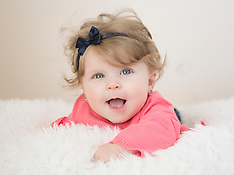 Lena's 6 Month & Valentine's Day Sister Session