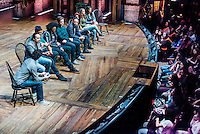 Lin Manuel Miranda & Hamilton Cast at the Richard Rodgers Theater answering questions from New York City High School Students
