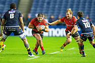 Alandre Van Rooyen (#2) of Isuzu Southern Kings runs with the ball during the Guinness Pro 14 2018_19 rugby match between Edinburgh Rugby and Isuzu Southern Kings at the BT Murrayfield Stadium, Edinburgh, Scotland on 5 January 2019.