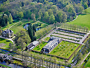 Nederland, Noord-Holland, 's-Gravenland,  07-05-2021; Noordeinde, Villa Labora, Hoofdkantoor Natuurmonumenten.<br /> luchtfoto (toeslag op standaard tarieven);<br /> aerial photo (additional fee required)<br /> copyright © 2021 foto/photo Siebe Swart