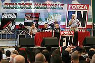 Campo d'Azione 2006 di Forza Nuova a Marta (VT).Tre giorni di incontri per i militanti di Forza Nuova meeting of forza nuova, raduno forza nuova