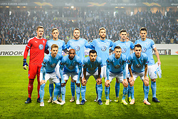 November 8, 2018 - MalmÅ, Sweden - 181108 Players of MalmÅ¡ FF posing for a group picture before the Europa League group stage match between MalmÅ¡ FF and Sarpsborg 08 on November 8, 2018 in MalmÅ¡..Photo: Petter Arvidson / BILDBYRN / kod PA / 92149 (Credit Image: © Petter Arvidson/Bildbyran via ZUMA Press)